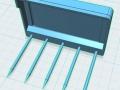 3D Mistgabel für Siku Control 32 oben