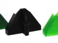 Frontdorn grün gelb schwarz blau