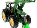 Anhängerdorn für Frontdreieck Siku Control 32 John Deere 7R grün