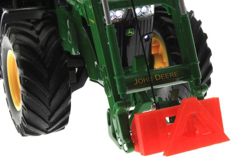 Adapter Frontdreieck rot Siku Control John Deere 7R nah