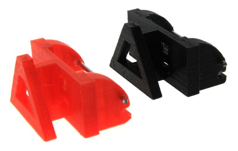 Adapter Frontdreieck rot schwarz Siku Control