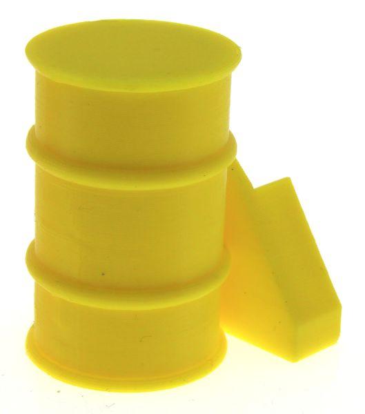 Frontgewicht Fass gelb Siku