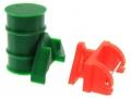 Frontgewicht Fass grün Siku mit Frontdreieck Adapter
