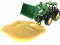 Getreide für Siku Control 32 und John Deere 7R mit Schaufel