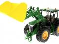 Getreideschaufel gelb Siku Control John Deere 7R - 6777 vorne links