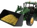 Getreideschaufel schwarz Siku Control John Deere 7R - 6777 mit Korn