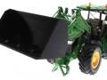 Getreideschaufel schwarz Siku Control John Deere 7R - 6777 vorne links
