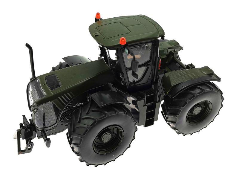 Siku Claas Xerion 5000 Traktor  Nato-Oliv-Grün oben links