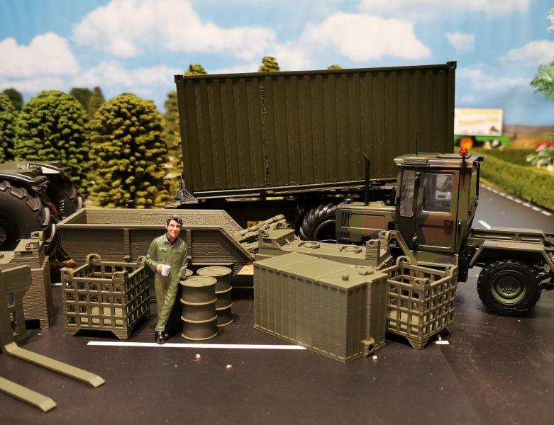 Siku Farmer Militär Zubehör