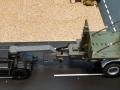Siku Volvo LKW mit Anhänger 20 Fuss Container Oliv Grün mit Schwanenhals