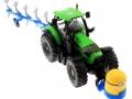 Frontgewicht Minion an Deutz-Fahr Traktor oben vorne rechts