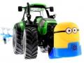 Frontgewicht Minion an Deutz-Fahr Traktor unten vorne rechts