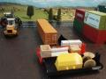 Mulden Container und Zubehör für Siku Hakenlift 6786 - Baustelle