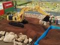 Mulden Container und Zubehör für Siku Hakenlift 6786 - Bagger
