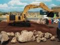 Mulden Container und Zubehör für Siku Hakenlift 6786 - Bagger auf Erdberg