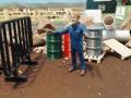 Mulden Container und Zubehör für Siku Hakenlift 6786 - Einweiser