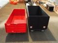 Mulden Container und Zubehör für Siku Hakenlift 6786 - Hoch Container Schwarz Vergleich hinten