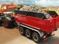 Mulden Container und Zubehör für Siku Hakenlift 6786 - Ladewanderhöhung hinten