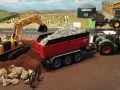 Mulden Container und Zubehör für Siku Hakenlift 6786 - Ladewanderhöhung hinten rechts