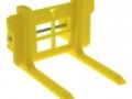 Treckerheld Palettengabel gelb für Siku Control 32 Gabeln breit