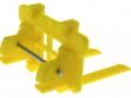 Treckerheld Palettengabel gelb für Siku Control 32 hinten