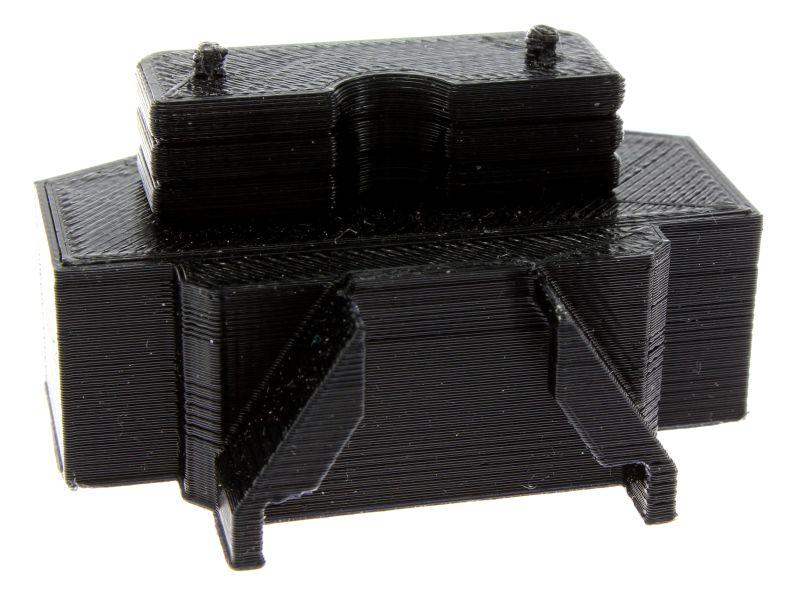 Treckerheld Gewicht Panther in schwarz für Siku Traktoren hinten