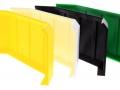 Treckerheld hohes Räumschild für Siku Control 32 gelb gruen schwarz weiss