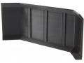 Treckerheld hohes Räumschild für Siku Control 32 schwarz