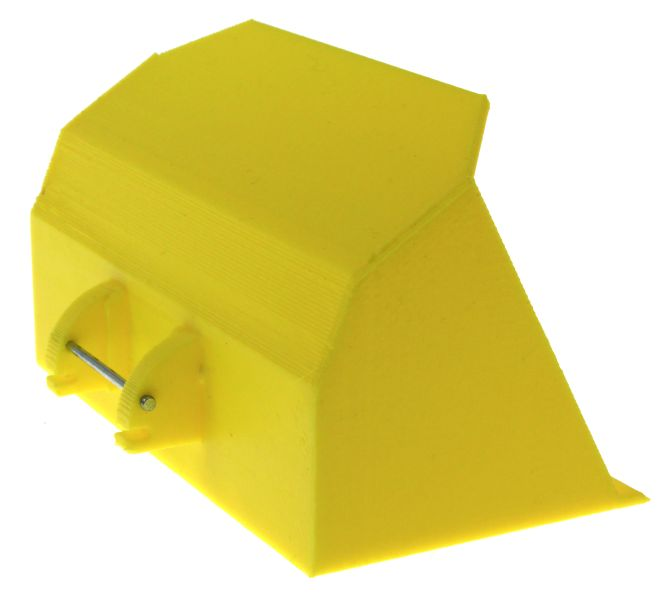 Schaufel gelb Siku Control 32 hinten rechts