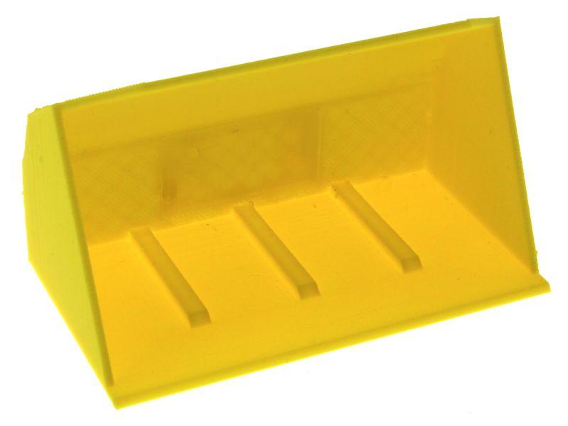 Schaufel gelb Siku Control 32 vorne