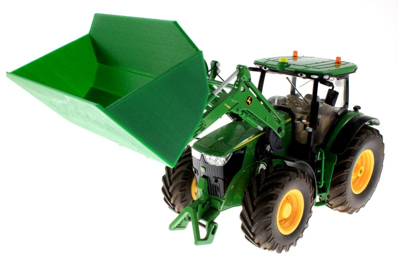 Schaufel grün für Siku Control 32 John Deere 7R