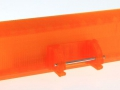 Schiebeschild orange für Siku Control 32 hinten