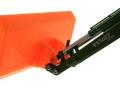 Schiebeschild orange an Siku Control 32 Fendt 939 Vario 6778 nah