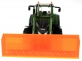 Schiebeschild orange an Siku Control 32 Fendt 939 Vario 6778 vorne