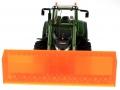 Schiebeschild orange an Siku Control 32 Fendt 939 Vario 6778 vorne