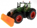 Schiebeschild orange an Siku Fendt 1050 Vario vorne links