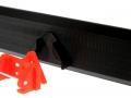 Schiebeschild schwarz mit Frontdreieck Adapter für Siku Control 32