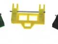 Siku Control Frontlader Adapter schwarz gelb grün