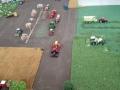 Traktorado 2014 in Husum - Blick von oben auf die Felder