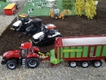 Traktorado 2014 in Husum - Case HQ mit Strautmann Hänger