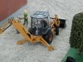 Traktorado 2014 in Husum - Case mit Heckbagger