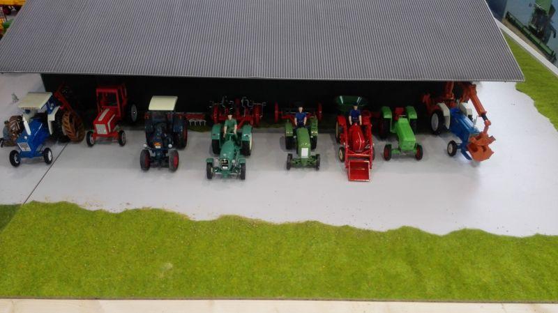 Traktorado 2014 in Husum - Alte Traktoren