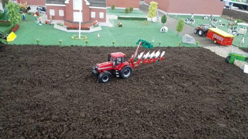 Traktorado 2014 in Husum - Beim Pflügen