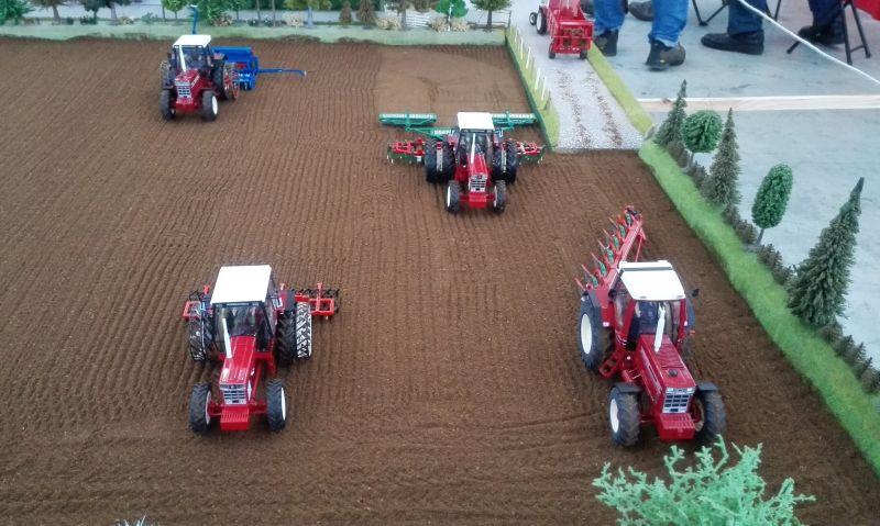 Traktorado 2014 in Husum - Feldbearbeitung
