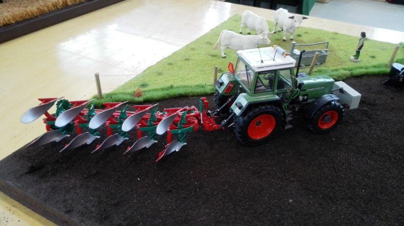 Traktorado 2014 in Husum - Fendt mit Wendepflug