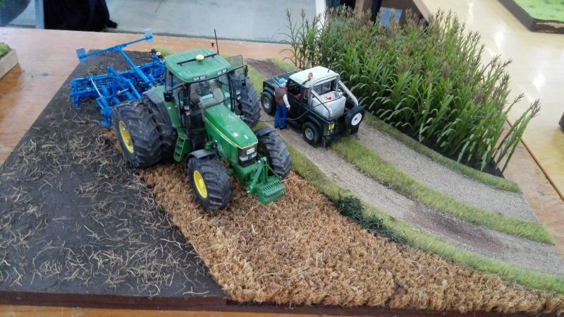Traktorado 2014 in Husum - John Deere mit Doppelbereifung