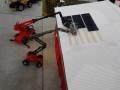 Traktorado 2014 in Husum - Solarpanel montage auf der Scheune