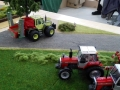 Traktorado 2014 in Husum - MB Trac mit Heckmäher