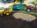 Traktorado 2014 in Husum - Verladung von Kartoffeln