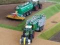 Traktorado 2014 in Husum - Zwei Fendt Trecker mi Fasswagen
